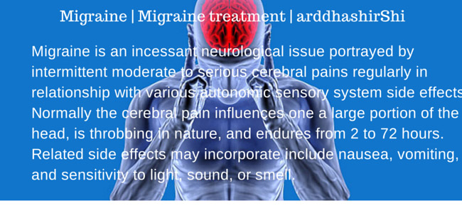 Migraine treatment at home