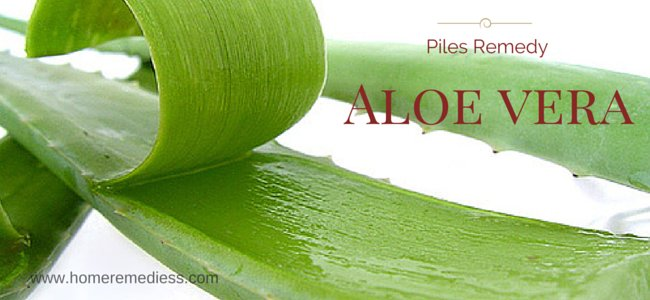 internal hemorrhoids best remedy Aloe vera