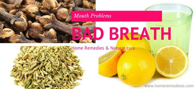 Home remedies for bad breath cure