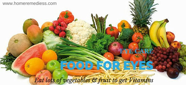 healthy diet for eyes