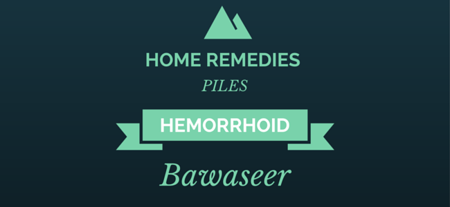 Hemorrhoids cure to reduce symptoms