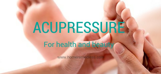 Acupressure for health and beauty