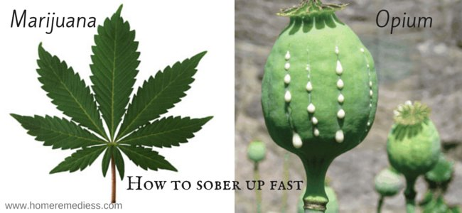how to make yourself sober up fast