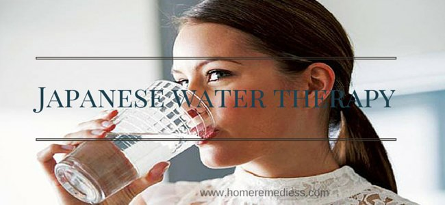 Japanese water therapy for glowing skin