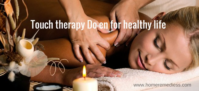 Touch therapy Do-en for healthy life