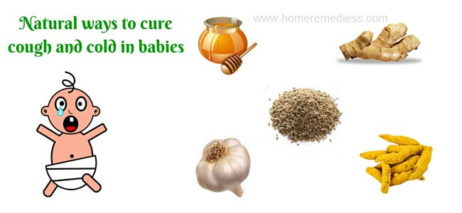 Natural ways to cure cough and cold in babies